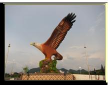 Малайзия. Лангкави. Площадь Орла