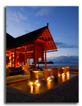 Малайзия. Лангкави. Four Seasons Resort Langkawi. Rhu Bar exterior
