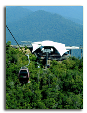 Малайзия. Лангкави. Four Seasons Resort Langkawi. Cable car