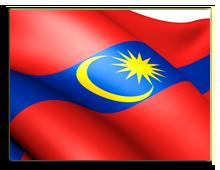 Малайзия. Куала-Лумпур. Флаг. Фото yuiyui - Depositphotos