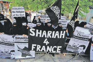 Салафиты в Европе создают локальные «зоны шариата». Фото со страницы сообщества Shariah for France в социальной сети Facebook