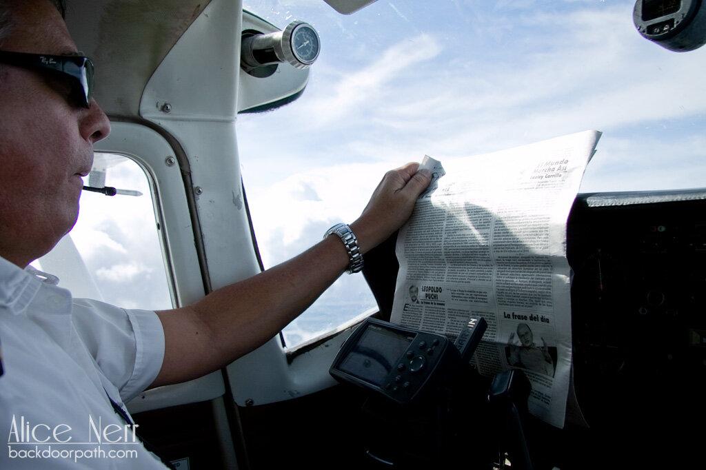 flight to Canaima