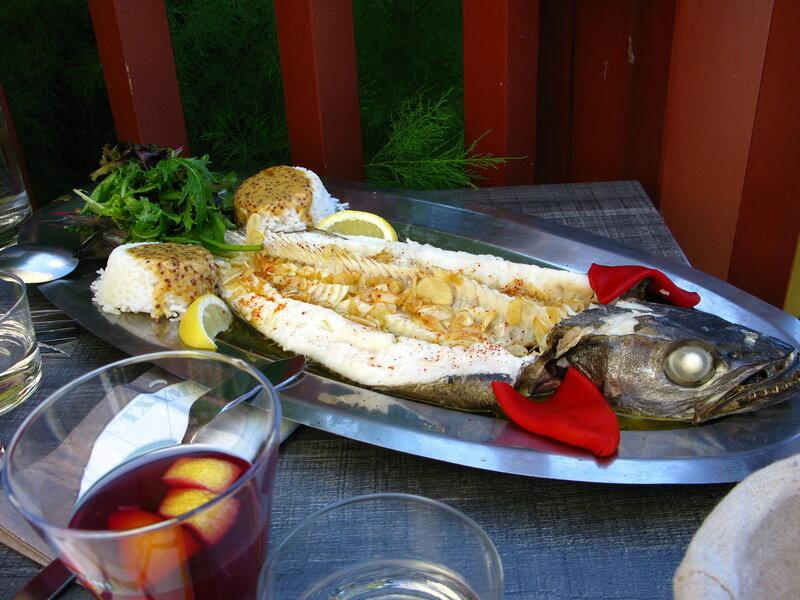 Зубастая и вкусная рыба мерлуза!