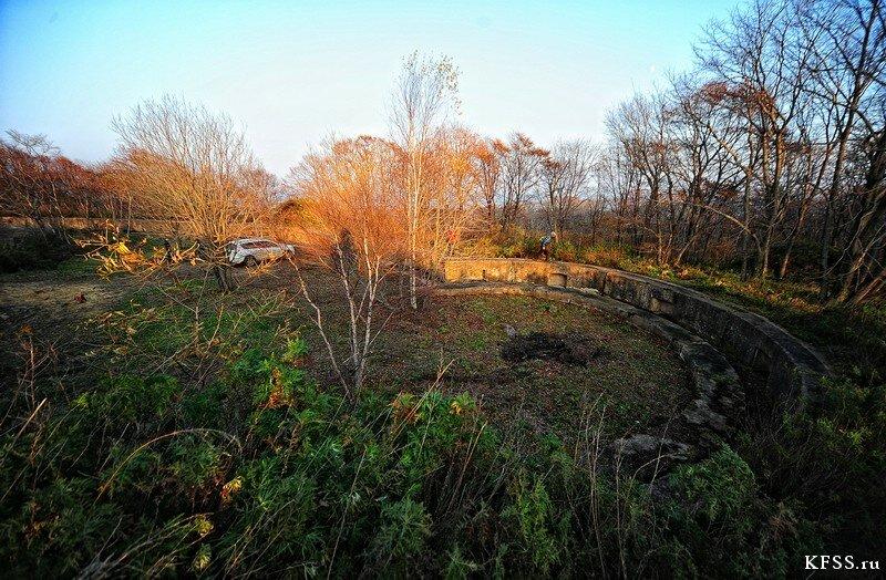 Форт №12 Владивостокской крепости kfss бруствер и барбет