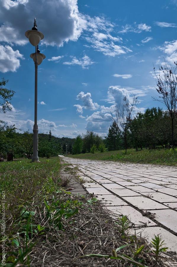 Киев, парк Феофания