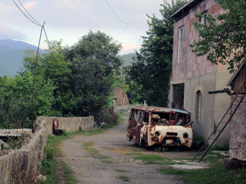 Алаверди, автобус