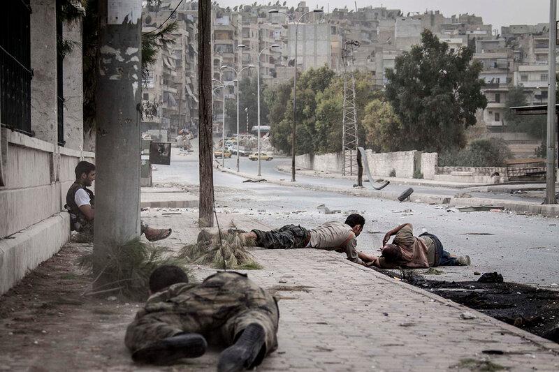 el conflicto de siria en imagenes