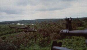Вертолеты ЧВК, Африка, война