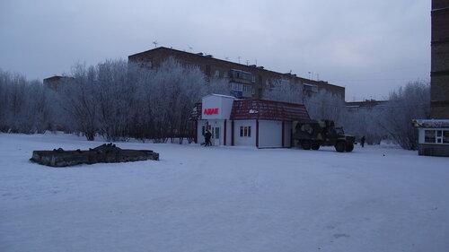 Фотография Инты №2193  Воркутинская 6, 10 и 8 (мороз -15 и небольшой туман) 26.11.2012_13:27