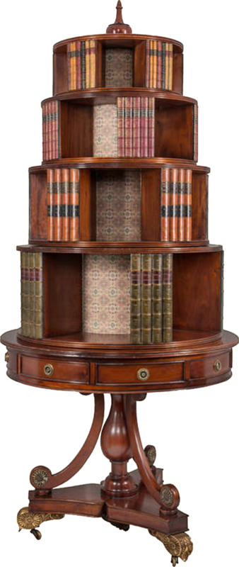dkerkhof - libby the librarian - round bookstand.png
