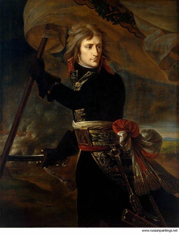Гро. Наполеон на Аркольском мосту