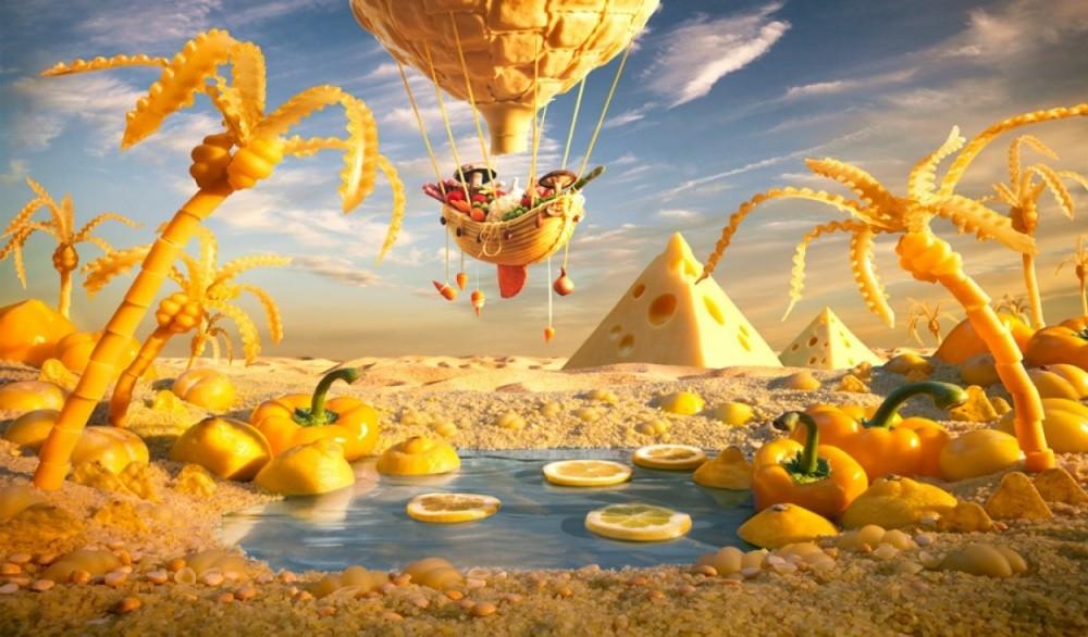 11. Желтый оазис