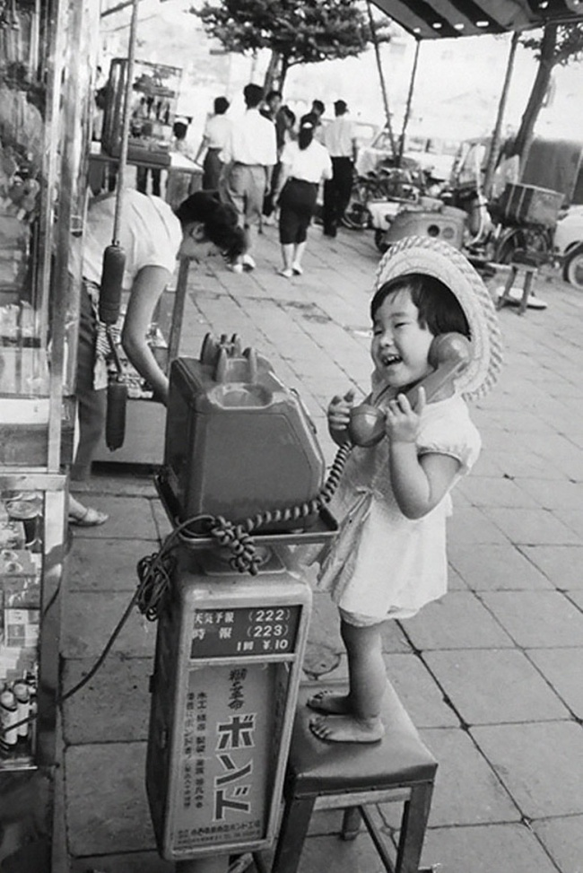 Японская девочка, 1958г.