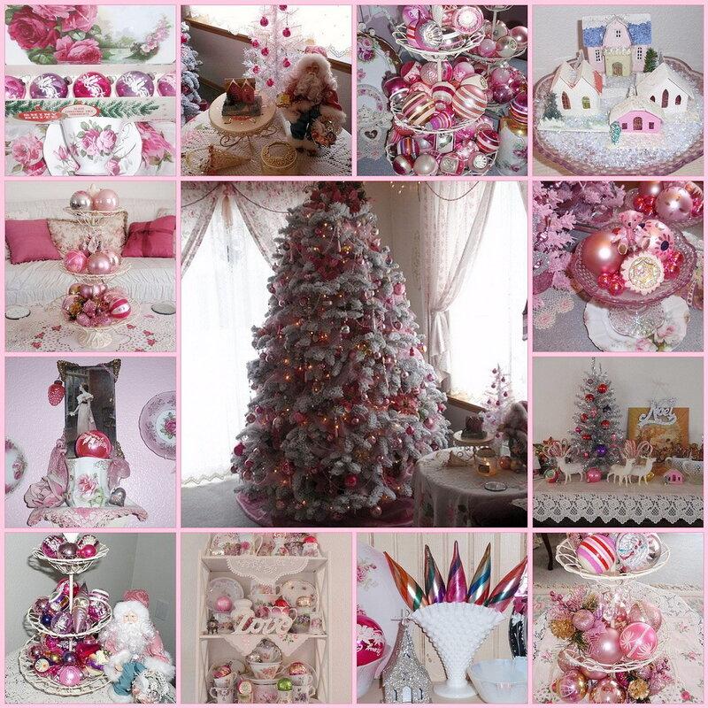 Новогодний декор, новогодний интерьер, ёлочные игрушки