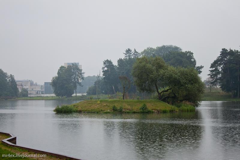 Пруд Мирского замка