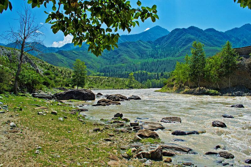 Река Чуя в Горном Алтае