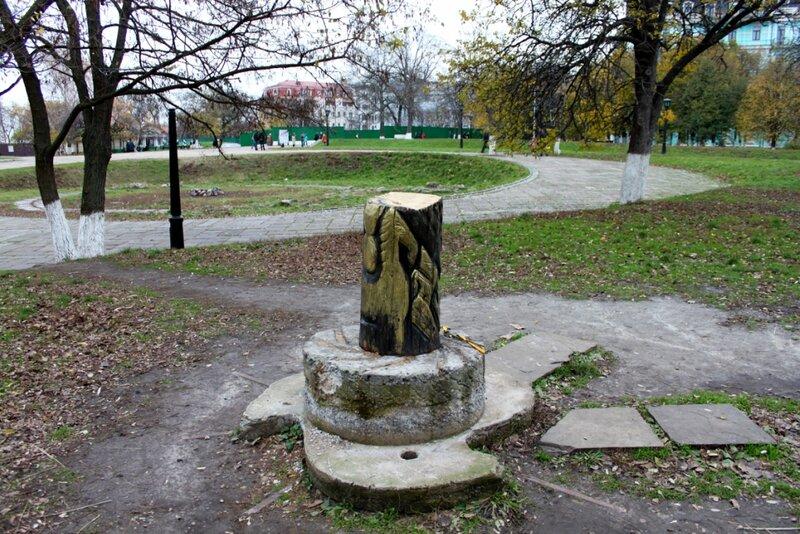 Старокиевская гора и остатки идола Перуна