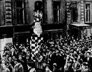 """Демонстрация протеста против""""ультиматума Керзона"""". Москва, 1923 г.Эта демонстрация изображенав очерке Булгакова """"Бенефис лорда Керзона"""""""