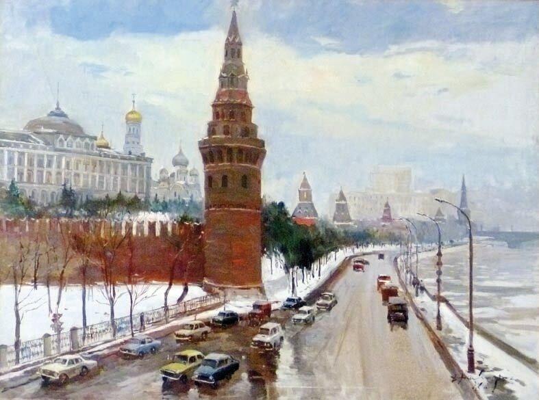 Дмитрий Налбандян. Москва. Кремль.