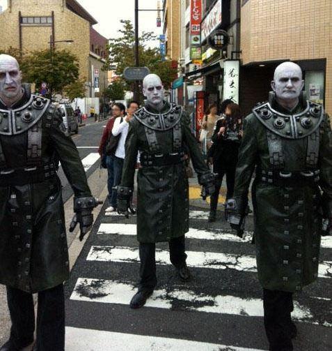 Resident Evil: Degeneration, Resident Evil: Damnation, Резидент Ивил, Biohazard, Capcom, Акихабара, японская жизнь, косплей