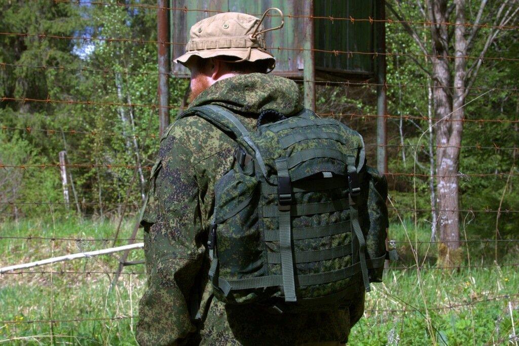 636161259898 Ранец патрульный из комплекта 6ш112: green7_62