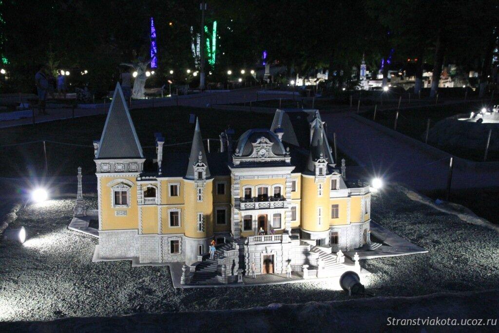 Крым, Бахчисарай, Парк миниатюр