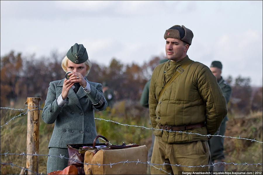 Немка и русский солдат