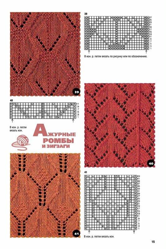 Узоры для вязания для маленьких