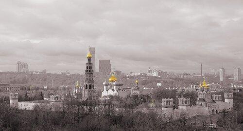 Купола в России кроют чистым золотом ...