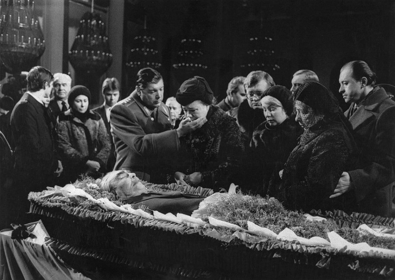 Брежнев, похороны, Чурбанов, жена Брежнева