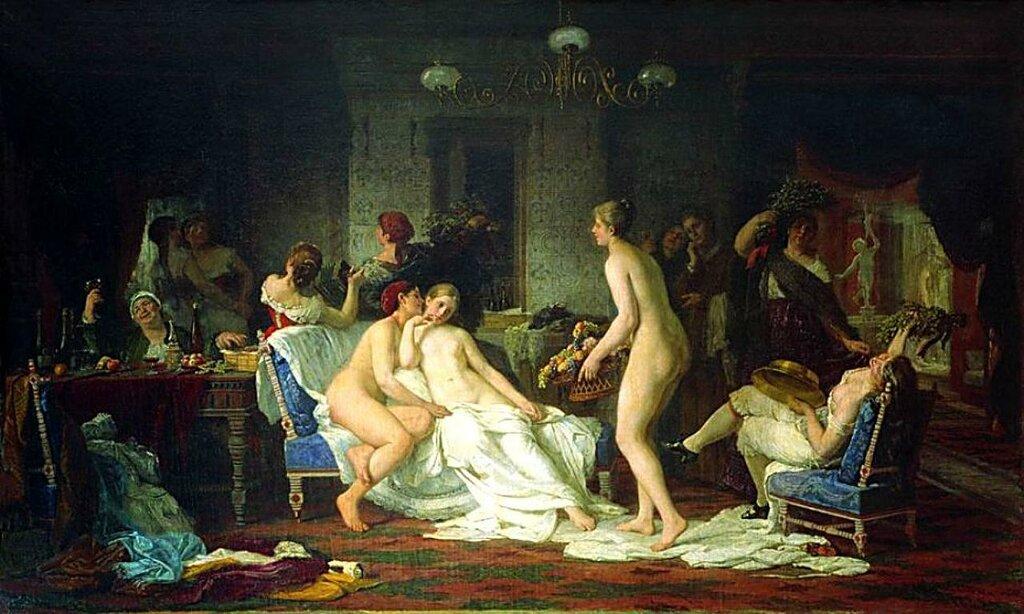 Пизды в русской бане
