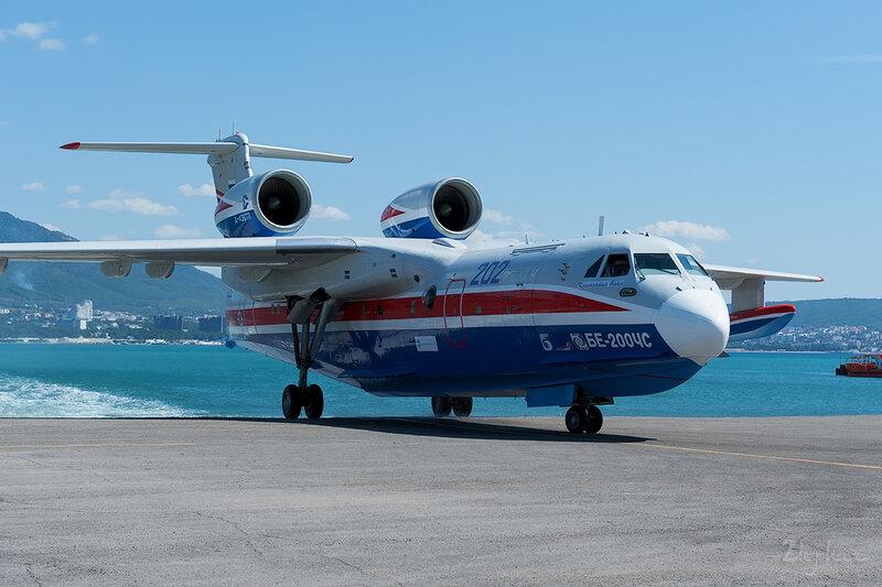 Бериев Бе-200ЧС (RF-21512) ТАНТК Бериева DSC_4715