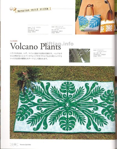 Hawaiian Quilt Bible vol.4