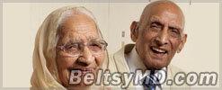 Супружеская чета вместе без малого 90 лет