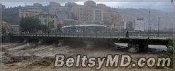 Италия под ударом стихии — Венеция на 70% под водой