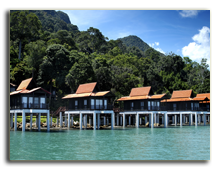Малайзия. Лангкави. BerjayaLangkawi_Junior_Chalet_on_Water_-_Facade
