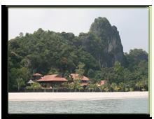 Малайзия. Лангкави. Four Seasons Resort Langkawi. Royal Villa view from sea