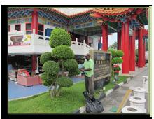 Малайзия. Куала-Лумпур. Китайский храм Тянь Хоу (Thean Hou)