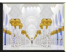 ОАЭ. Абу Даби. Мечеть шейха Заеда. Фото Vladimir Melnik - shutterstock