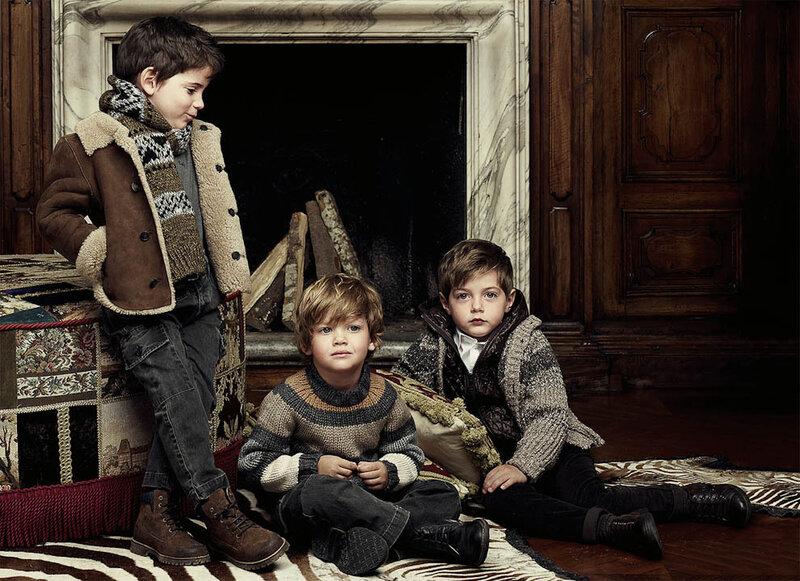 Детская коллекция Dolce & Gabbana