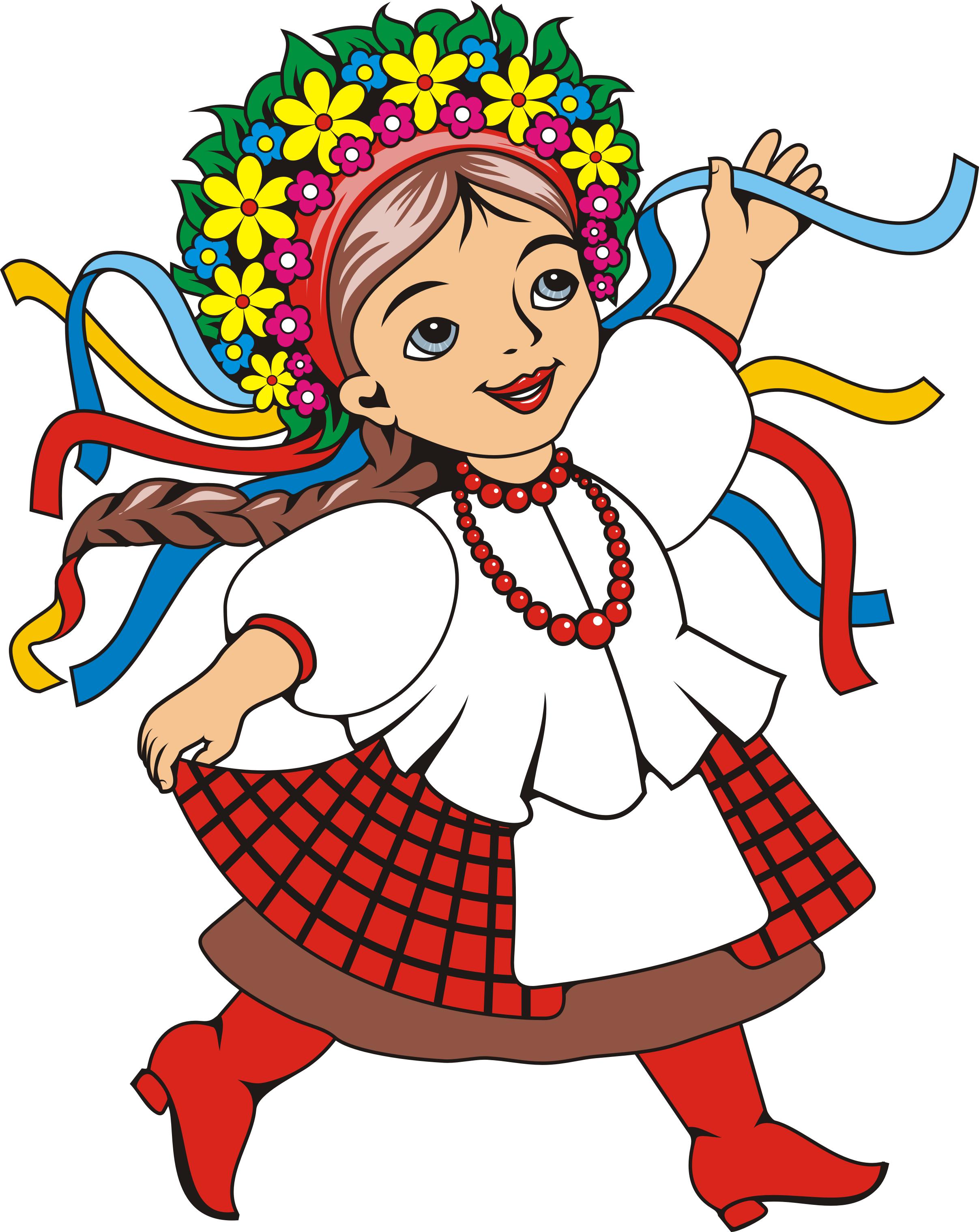 Раскраски для детей про украину