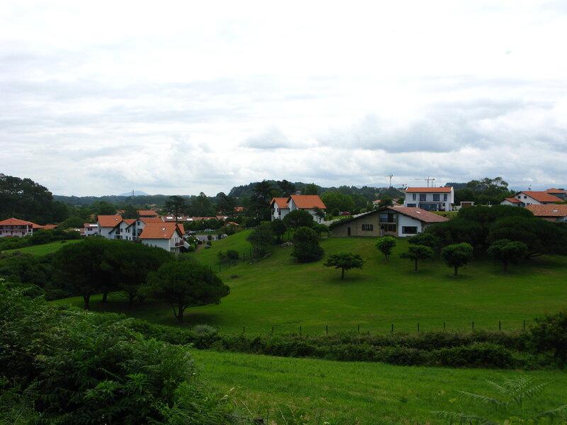 Типичные баскские пейзажи