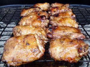 Курица на Гриле в Нектаре Гуавы. Курица на гриле
