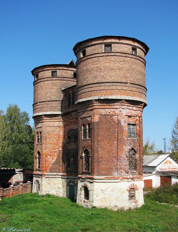Дом в водонапорная башня харьков