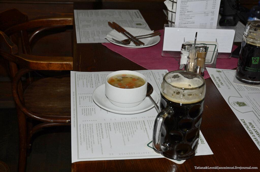 Чешское пиво, вепрево колено и качка