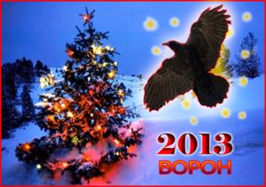 Чего ждать от 2013 года Ворона?