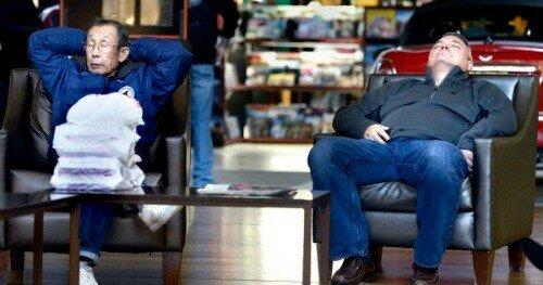 Вы поймете, что комфортабельное кресло приравнивается к трону Царя.