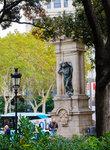 Барселона. Площадь Каталония.