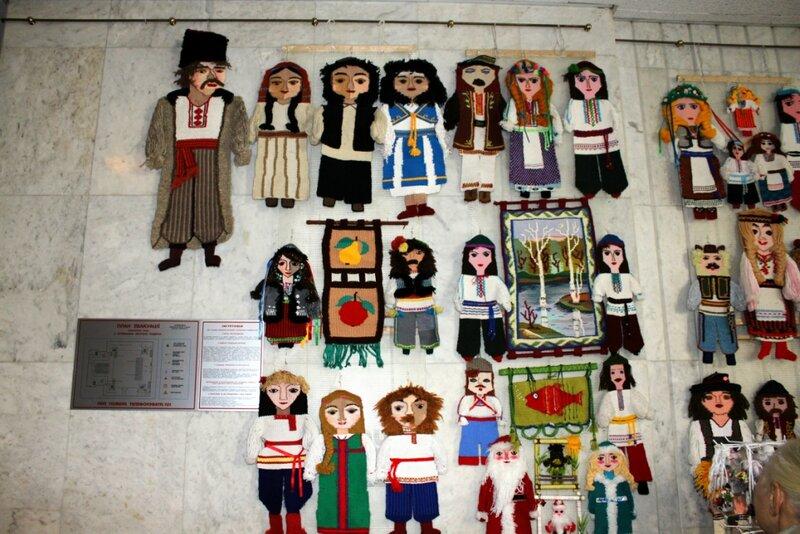 Куклы-сувениры