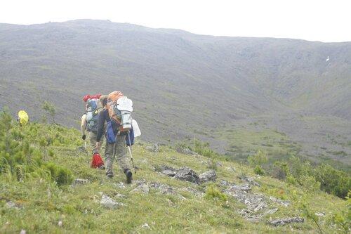 Северный склон Конжаковского камня, снежник <Карта>